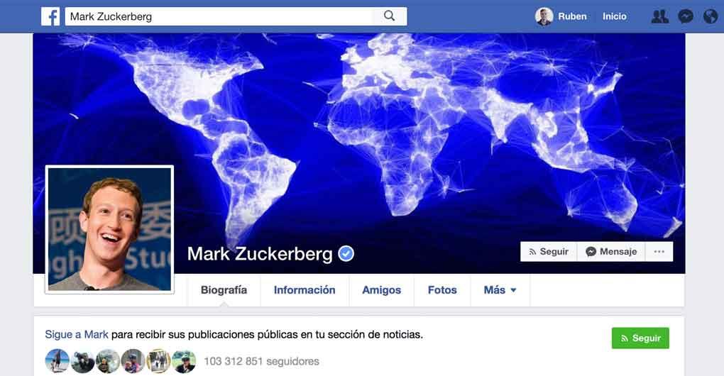 páginas de facebook